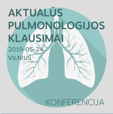 """MOKSLINĖ PRAKTINĖ KONFERENCIJA """"Aktualūs pulmonologijos klausimai"""", 2019-05-24, Vilnius"""